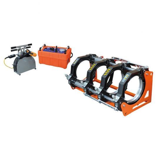 Ritmo BASIC 315 V1 kézi vezérlésű tompahegesztőgép 90-280 szűkítő befogósorozattal