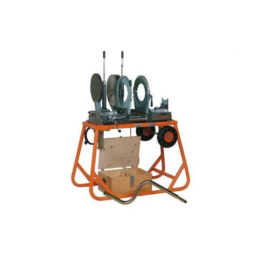 Ritmo MAXI 315 TE lefolyócső tompahegesztő gép 200, 250 befogópofákkal