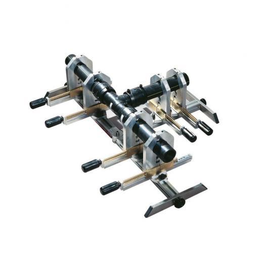 Ritmo Universal aligner 160 LIGHT központosító rögzítő 63-160mm táskában (két ág alapból)
