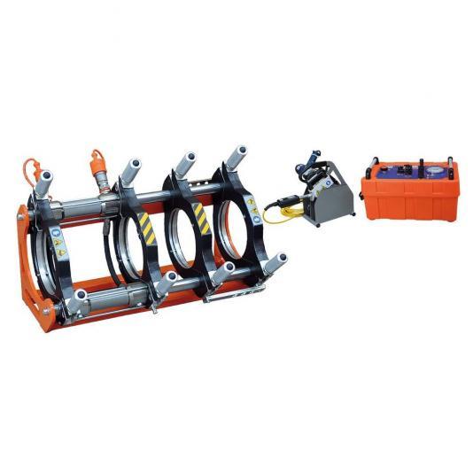 Ritmo BASIC 200 V0 kézi vezérlésű tompahegesztőgép 63-180 szűkítő befogósorozattal