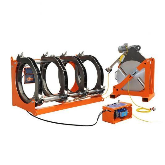 Ritmo DELTA 800 V1 kézi vezérlésű tompahegesztőgép, 400V, szűkítő befogósorozat nelkul