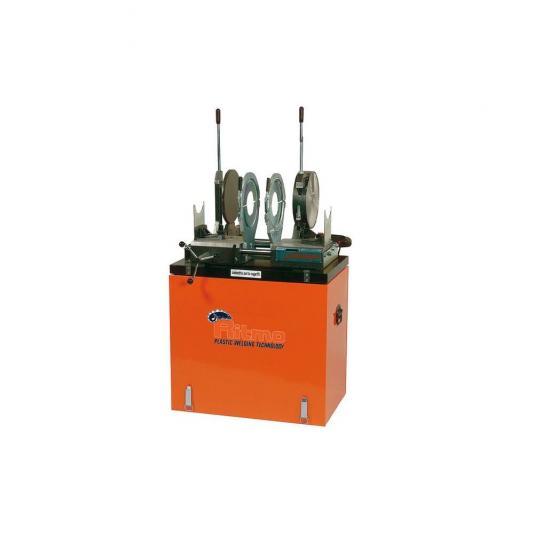 Ritmo VR250 TE lefolyócső tompahegesztő gép teljes befogósorozattal 75-250 (kivéve 140, 180)